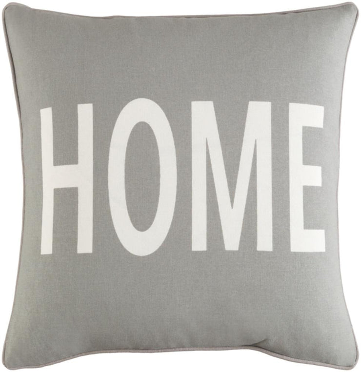 Medium Gray Cotton cushion