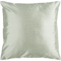 Solid Luxe Moss Pillow