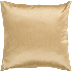 Solid Luxe Gold Pillow