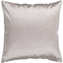 Solid Luxe Taupe Pillow
