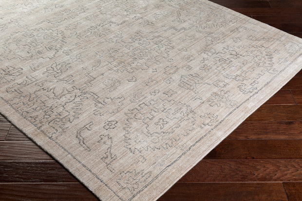 Hightower rug in Beige and Charcoal