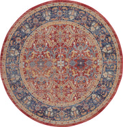 Ankara Global Rug in Red by Nourison