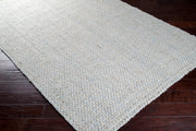 Jute Woven Light Grey Rug
