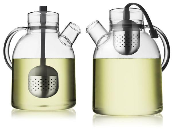 Glass Kettle Teapot with Tea Egg design by Menu