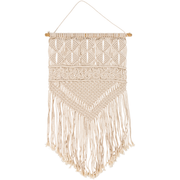 Kahlo Woven Wall Hanging in Cream