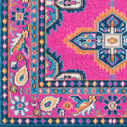 Love Rug in Pink & Blue