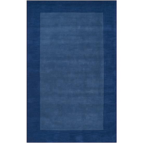 Mystique Wool Area Rug in Sapphire & Dark Blue