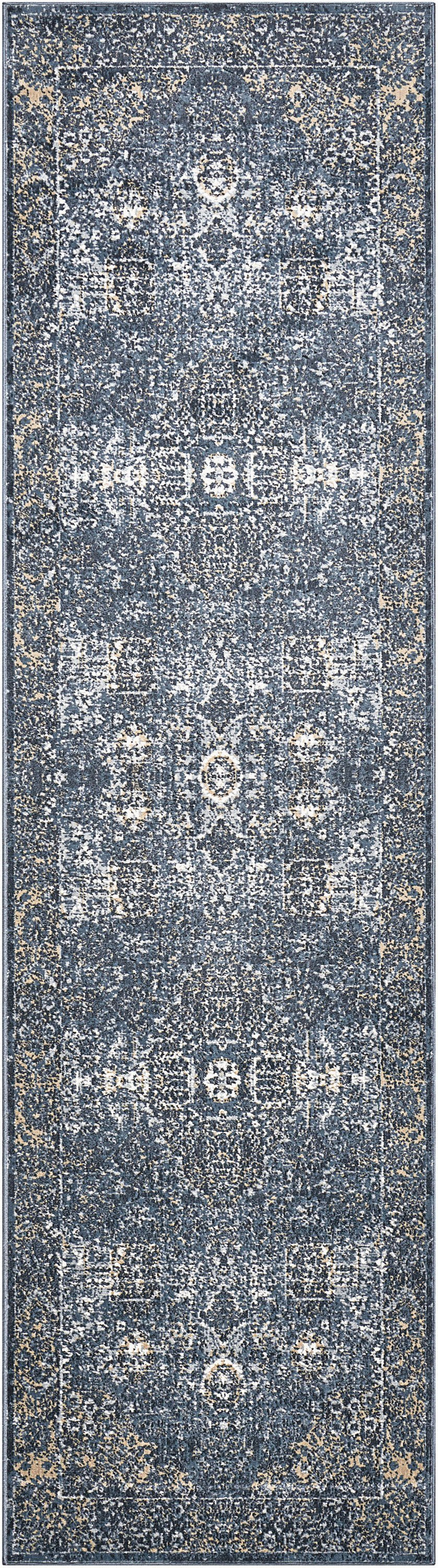Malta Rug in Navy by Kathy Ireland