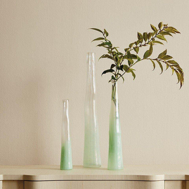 Set of 3 Primavera Vases in Green design by Bungalow 5