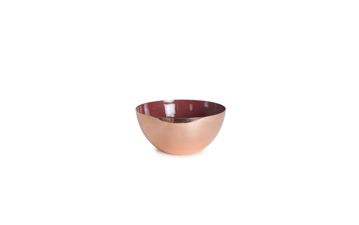Louise Copper Bowls in Various Colors & Sizes