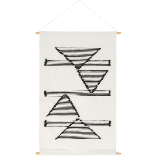 Savion Woven Wall Hanging in White