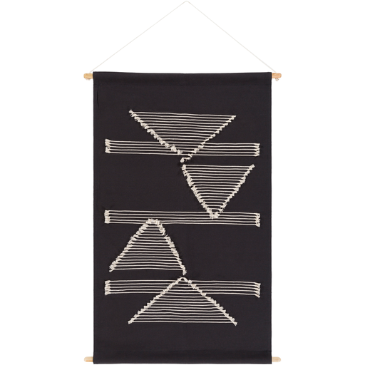 Savion Woven Wall Hanging in Black
