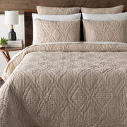Tatum Bedding in Beige