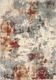 Artworks Rug in Slate Multi by Nourison