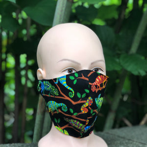 Adult Face Cover | Chameleon - The Crafty Artisans