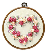 Load image into Gallery viewer, Embroidered Hearts - The Crafty Artisans