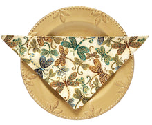 Load image into Gallery viewer, Small Cloth Napkins | Butterflies - The Crafty Artisans