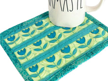 Load image into Gallery viewer, Mug Rug Coaster | Tulips - The Crafty Artisans