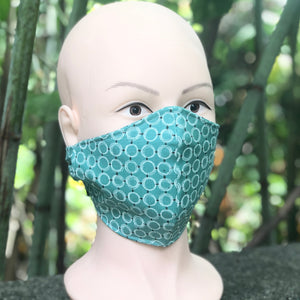 Adult Face Cover | Teal - The Crafty Artisans
