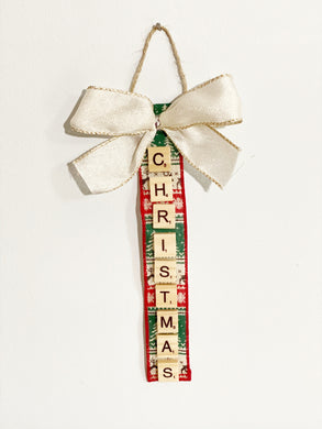 Scrabble Christmas Ornaments | Christmas - The Crafty Artisans
