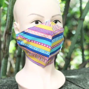 Adult Face Cover | Chevron - The Crafty Artisans
