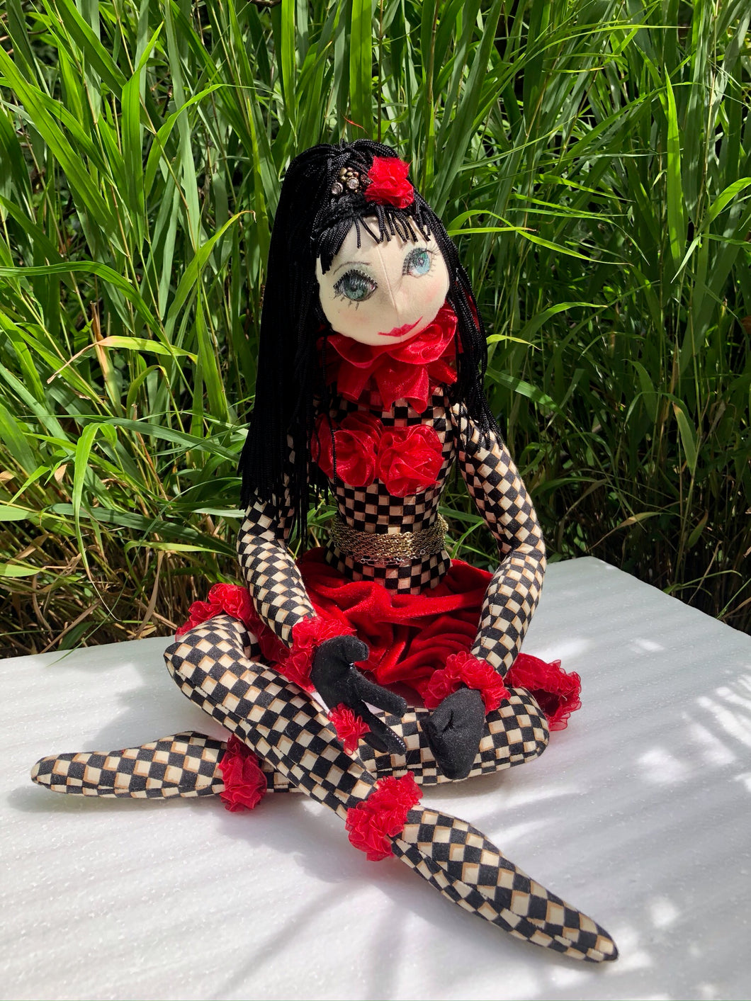 Handmade Art Doll - The Crafty Artisans
