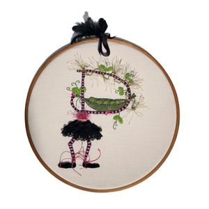 Hand Embroidered Letters - The Crafty Artisans