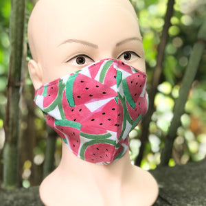 Adult Face Cover | Watermelon - The Crafty Artisans