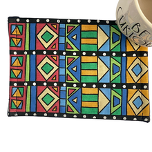 Load image into Gallery viewer, Mug Rug Coaster | African Print - The Crafty Artisans