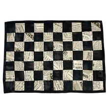 Load image into Gallery viewer, Placemats | Black & White Checkerboard - The Crafty Artisans