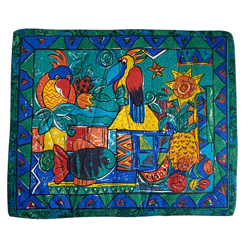 Placemats | Colourful Birds - The Crafty Artisans