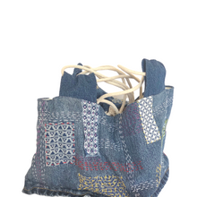 Load image into Gallery viewer, Upcycled Demin Bags - The Crafty Artisans