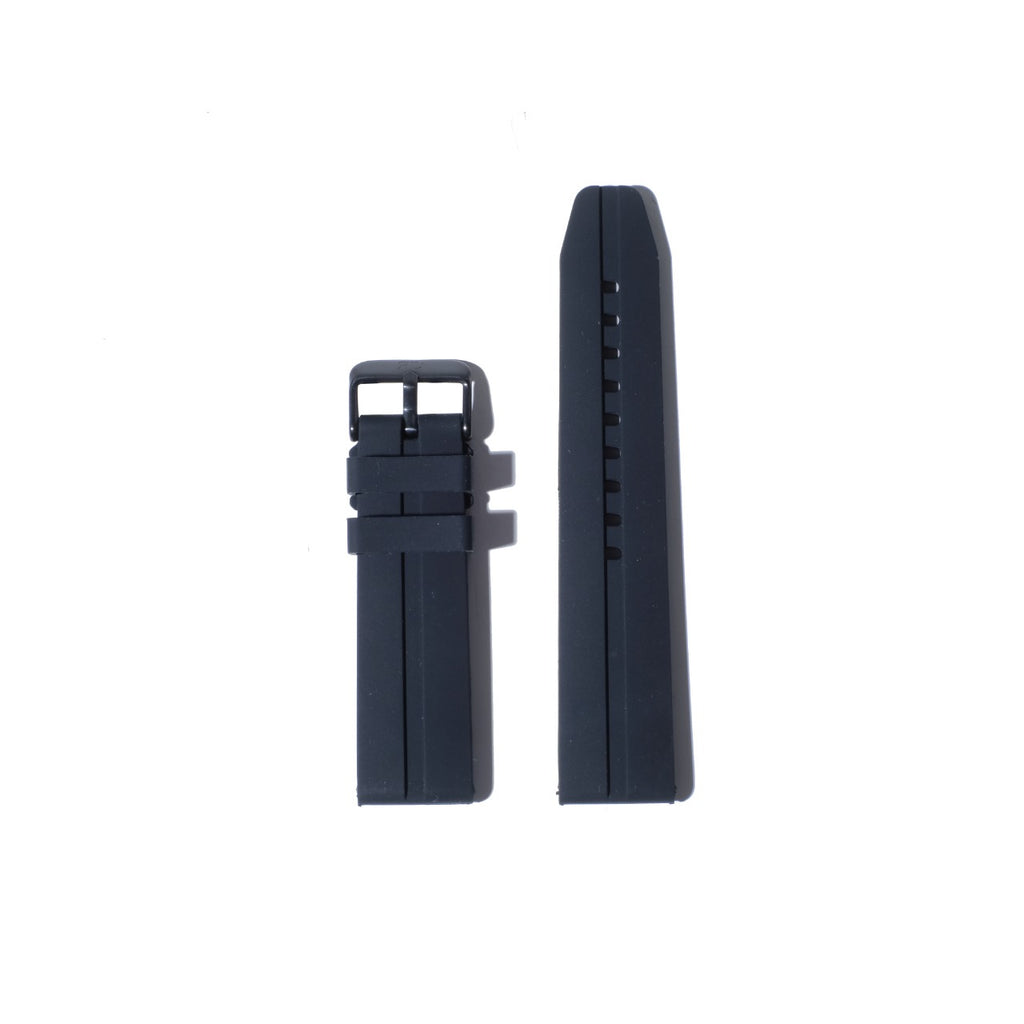 Strap 22mm rubber black