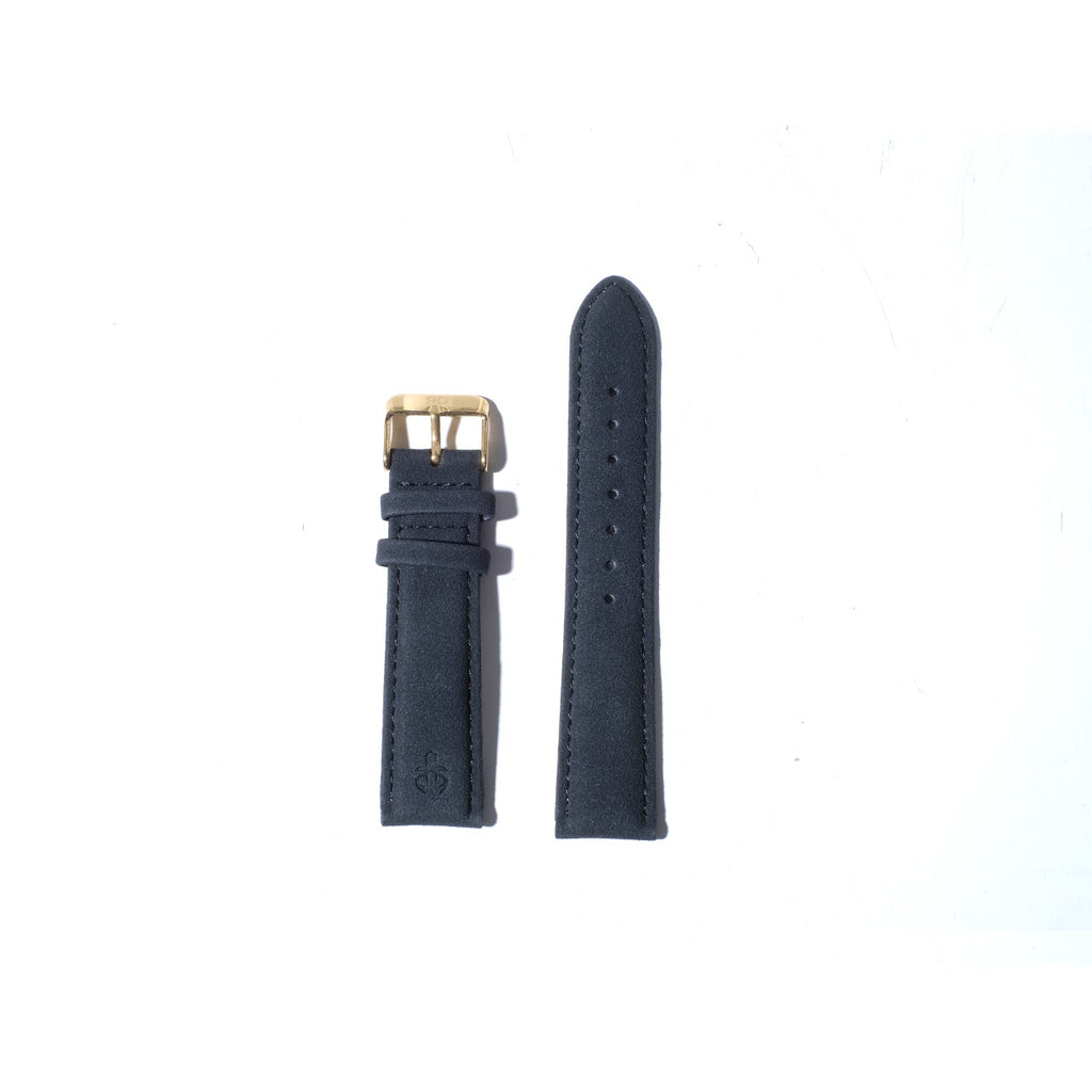 Strap 20mm black gold