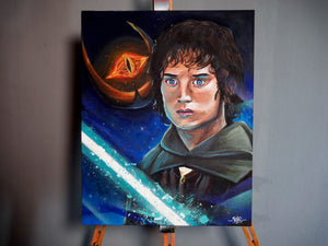 Star Wars x Lord of the rings - Original painting on canvas