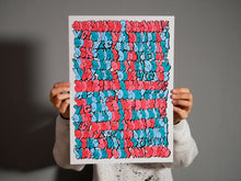 Load image into Gallery viewer, Graffiti Puzzel Print 2020