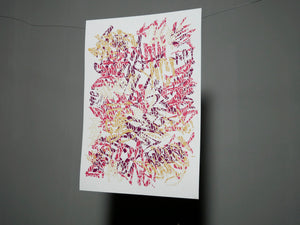 Abstract Graff Print 2020