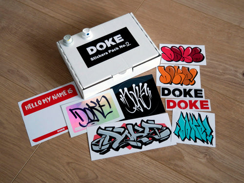 Doke Stickers Pack No.2