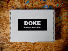 Load image into Gallery viewer, Doke Stickers Pack No.1