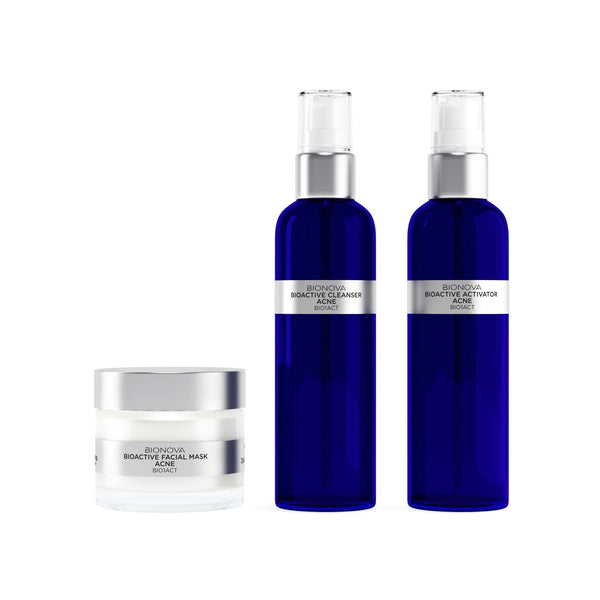 3-Step Skin Regimen Kit for Acne Skin | b°n Science