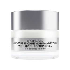Anti-Stress Care for Normal/Dry Skin with UV Chromophores