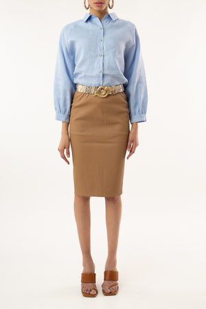 Florida Leather Skirt - [www.unorthodox-boutique.com]