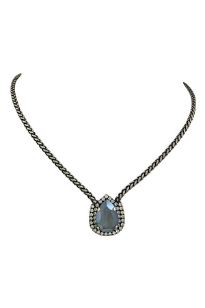 Zia Teardrop Necklace - [www.unorthodox-boutique.com]