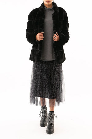 Bella Faux Fur Jacket - [www.unorthodox-boutique.com]
