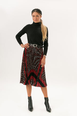 Darling Pleat Skirt - [www.unorthodox-boutique.com]