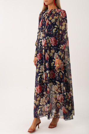 Maggie Silk Maxi Dress - [www.unorthodox-boutique.com]