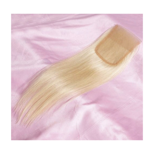 Blonde Straight Lace Closure