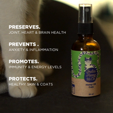 Load image into Gallery viewer, Hemp seed Oil (HOP) - Cats - India Hemp and Co.
