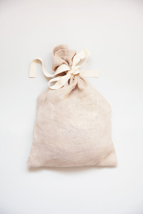 Pure Organic Unbleached Linen Bread Bag