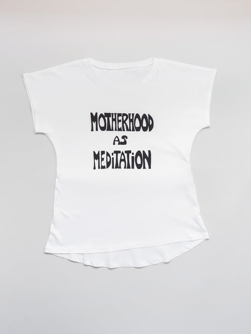 Motherhood As Meditation on The Perfect Tee